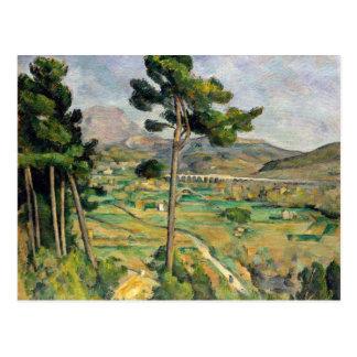Paul Cezanne Mont Sainte-Victoire Postcard