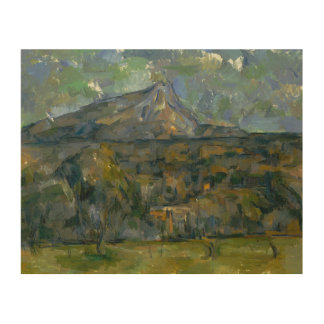 Paul Cezanne - Mont Sainte-Victoire Wood Canvases