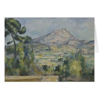 Paul Cezanne - Montagne Saint-Victoire Card