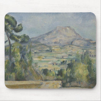 Paul Cezanne - Montagne Saint-Victoire Mouse Pad
