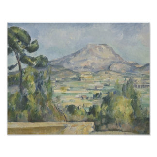 Paul Cezanne - Montagne Saint-Victoire Photo Art