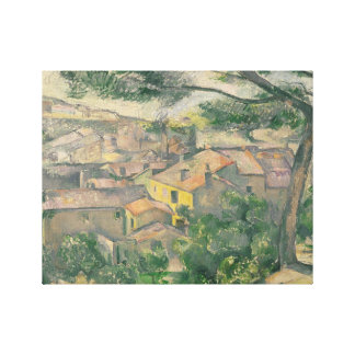 Paul Cezanne - Morning View of L'Estaque Against Canvas Print