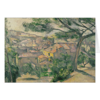 Paul Cezanne - Morning View of L'Estaque Against Card