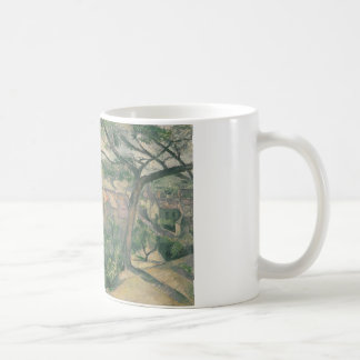 Paul Cezanne - Morning View of L'Estaque Against Coffee Mug