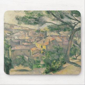 Paul Cezanne - Morning View of L'Estaque Against Mouse Pad