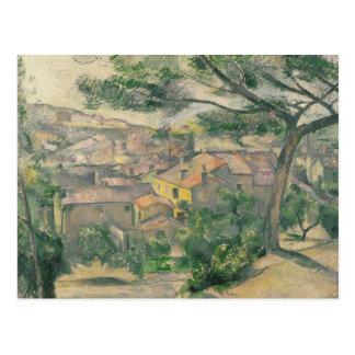 Paul Cezanne - Morning View of L'Estaque Against Postcard