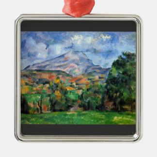 Paul Cezanne - Mount St Victoire Metal Ornament
