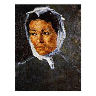 Paul Cezanne - Peasant Woman Postcard