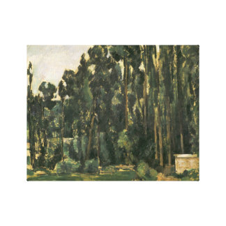 Paul Cezanne - Poplars Canvas Print