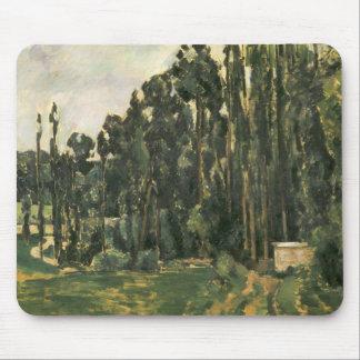 Paul Cezanne - Poplars Mouse Pad