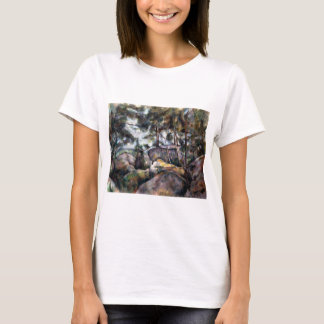 Paul Cezanne Rocks in the Forest T-Shirt