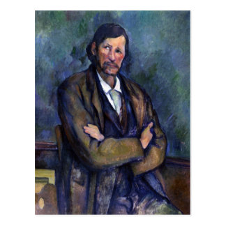Paul Cezanne - Self Portrait Postcard
