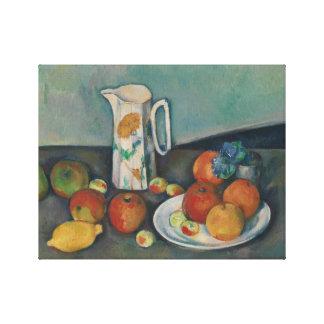 Paul Cezanne - Still Life Canvas Print
