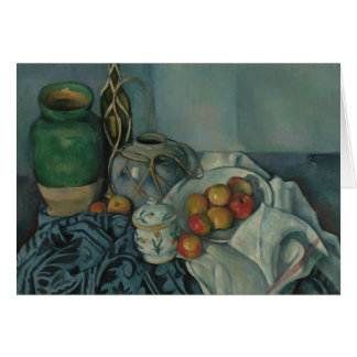 Paul Cezanne - Still Life with Apples Card