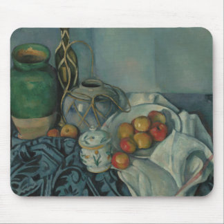 Paul Cezanne - Still Life with Apples Mouse Pad