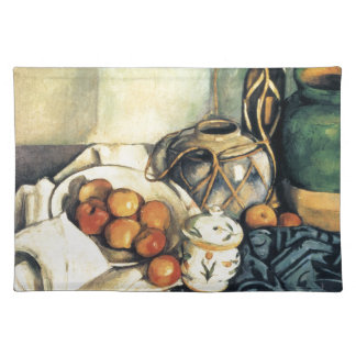 Paul Cezanne Still Life With Apples Placemats