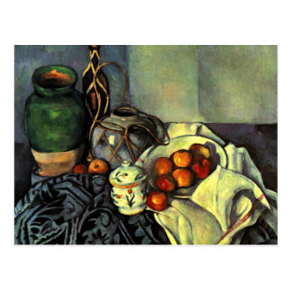 Paul Cezanne - Still Life with Apples Postcard