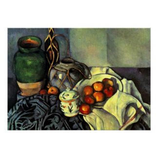 Paul Cezanne - Still Life with Apples Poster