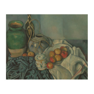 Paul Cezanne - Still Life with Apples Wood Prints