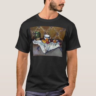 Paul Cezanne Still Life with Jar, Cup, and Apples T-Shirt