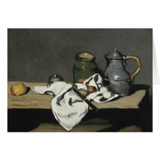 Paul Cezanne - Still Life with Kettle Card