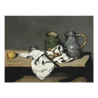 Paul Cezanne - Still Life with Kettle Photo Print