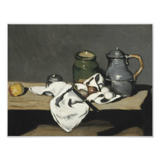 Paul Cezanne - Still Life with Kettle Photograph