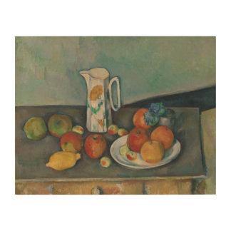 Paul Cezanne - Still Life Wood Canvas