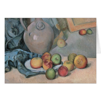Paul Cezanne - Stoneware Pitcher Card