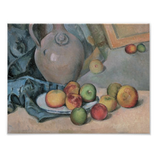 Paul Cezanne - Stoneware Pitcher Poster