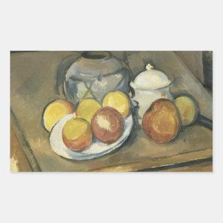 Paul Cezanne - Straw-Trimmed Vase, Sugar Bowl