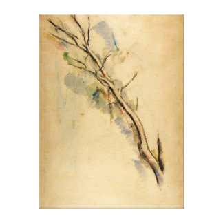 Paul Cezanne Studies of a Tree Canvas Print