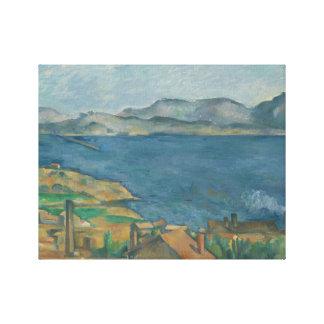 Paul Cezanne - The Bay of Marseilles Canvas Print