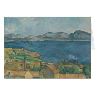 Paul Cezanne - The Bay of Marseilles Card