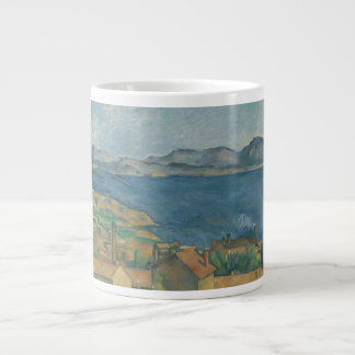 Paul Cézanne - The Bay of Marseilles Large Coffee Mug