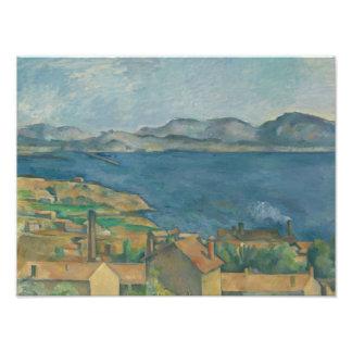 Paul Cezanne - The Bay of Marseilles Photo Print