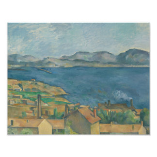 Paul Cezanne - The Bay of Marseilles Photo Print