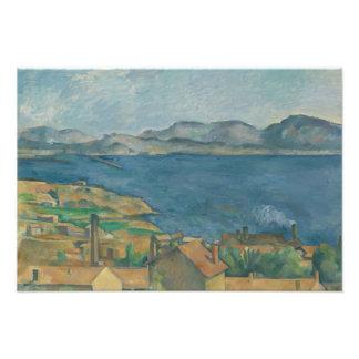 Paul Cezanne - The Bay of Marseilles Photograph