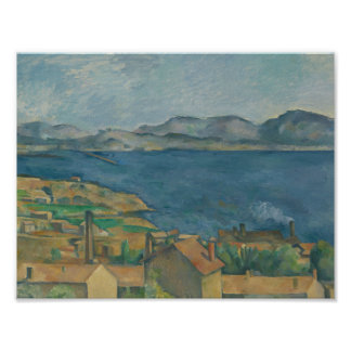 Paul Cezanne - The Bay of Marseilles Poster