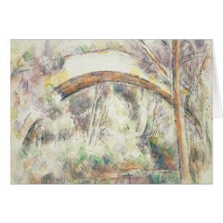 Paul Cezanne - The Bridge of Trois-Sautets Card