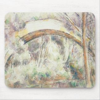 Paul Cezanne - The Bridge of Trois-Sautets Mouse Pad