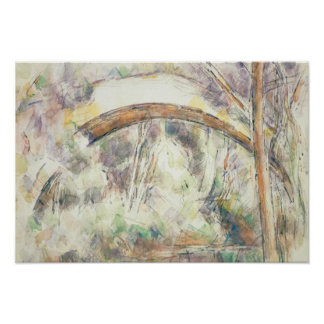 Paul Cezanne - The Bridge of Trois-Sautets Poster