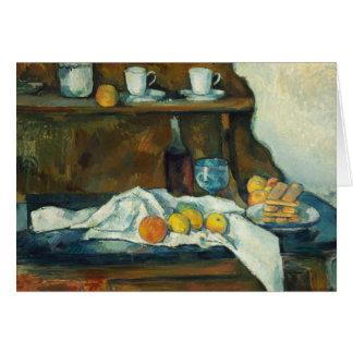 Paul Cezanne - The Buffet Card