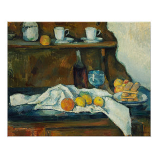 Paul Cezanne - The Buffet Poster