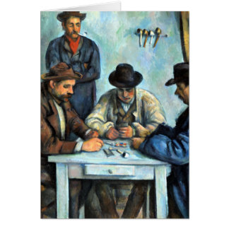 Paul Cezanne The Card Players
