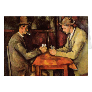 PAUL CEZANNE - The card players 1894