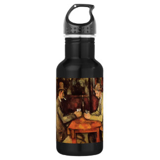 PAUL CEZANNE - The card players 1894 532 Ml Water Bottle