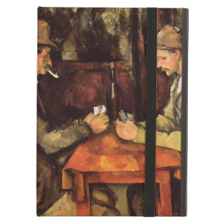 PAUL CEZANNE - The card players 1894 Case For iPad Air