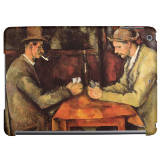 PAUL CEZANNE - The card players 1894 iPad Air Cases