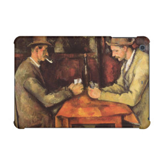 PAUL CEZANNE - The card players 1894 iPad Mini Cases